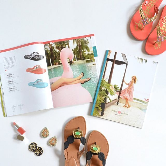 Reminiscing about the Spring 16 catalog. Photoshoot happened during a tropical storm! But look how it turned out... @switchflops #getitdone