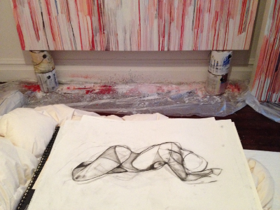 Figure drawing, 2014