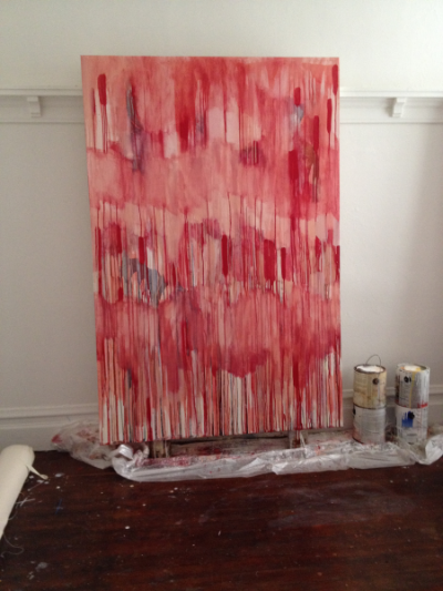 Painting in progress, 2015