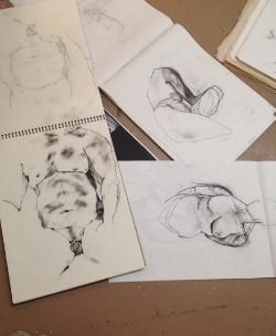Cataloguing drawings, 2015