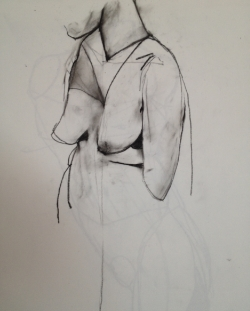 Charcoal drawing, 2014