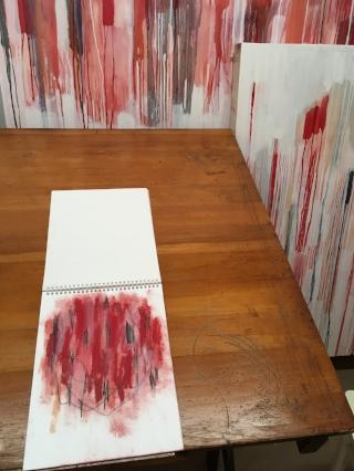Studio table, 2017