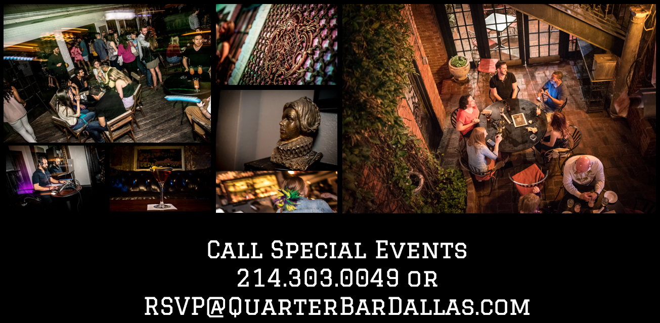 Quarter Bar Dallas Private Party Booking Call Us.png