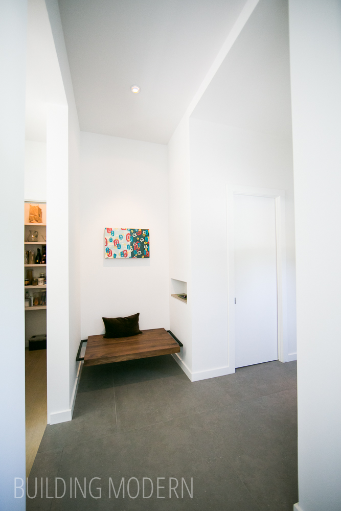 TaC studios designed Hall bench