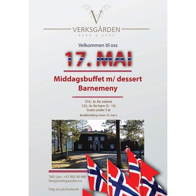 Middagsbuffet på #Verksgården i #kopperå #17mai  #meråker #selskapslokale #tradisjonsmat  #byggmedsjel