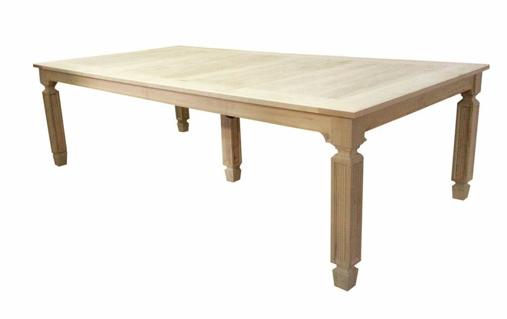 Bleached Dining Table