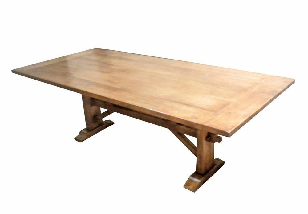 Pine Farmhouse-Style Custom Dining Table