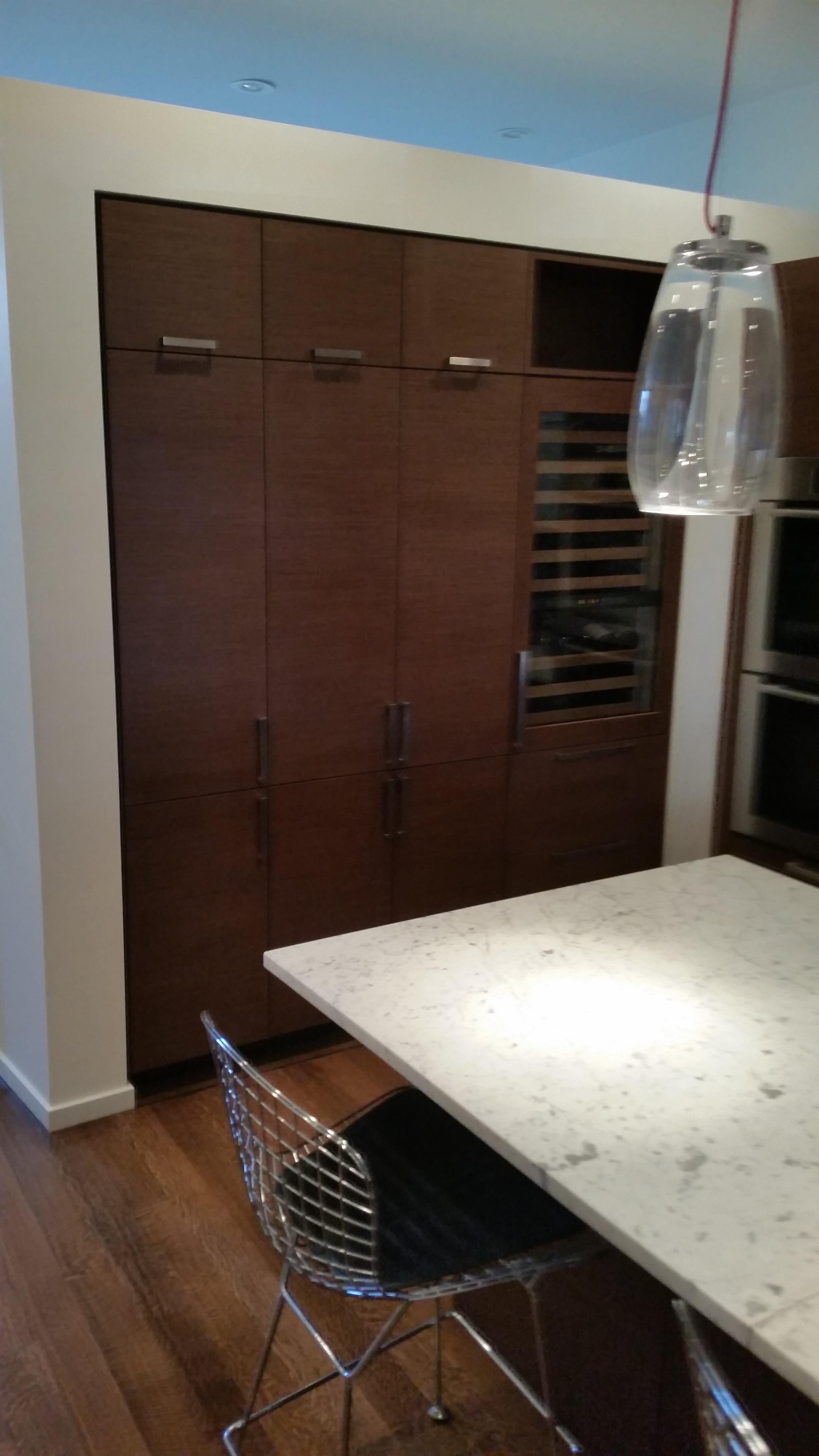 Built-In Kitchen Cabinet