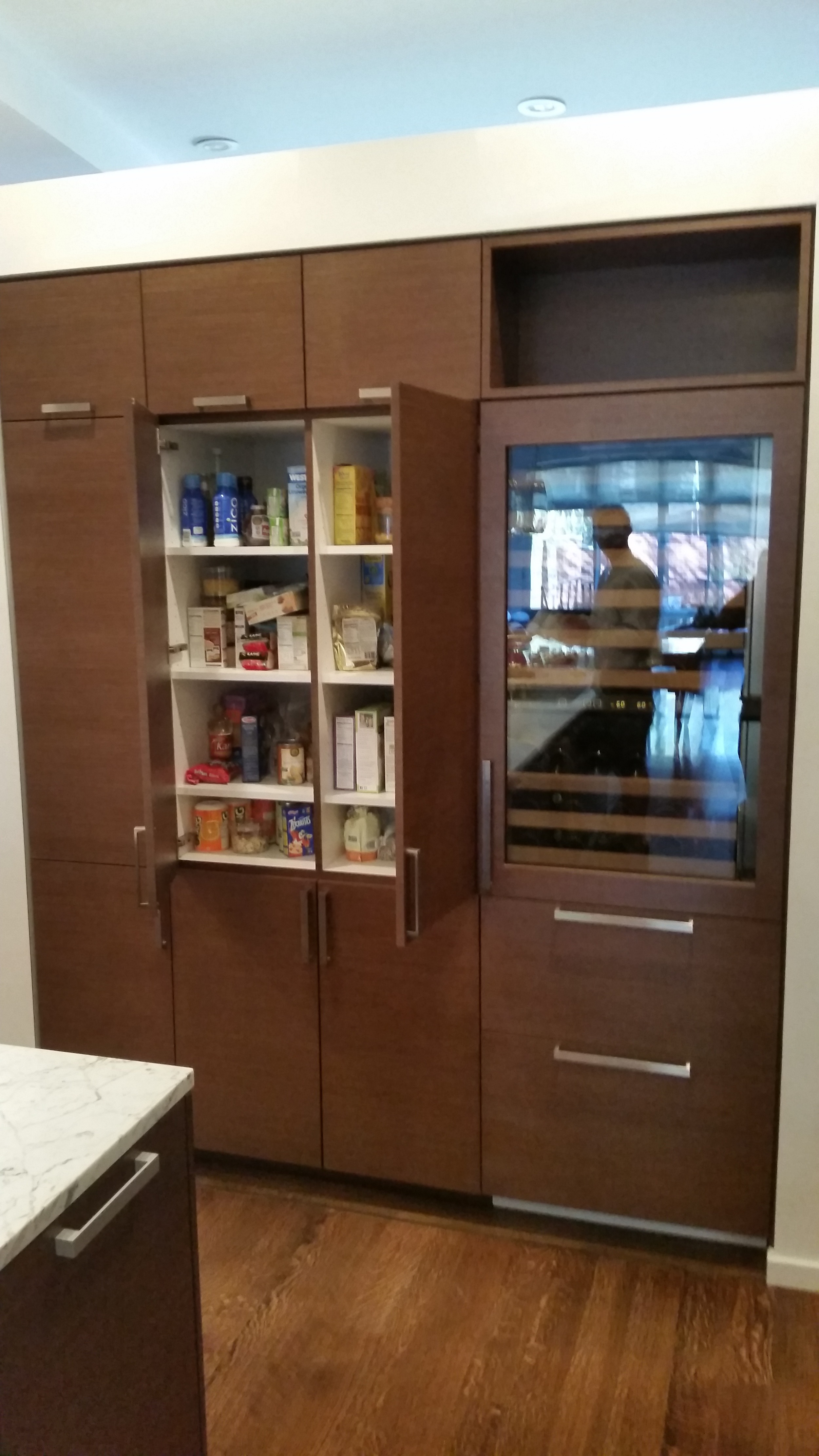 Built-In Kitchen Cabinets
