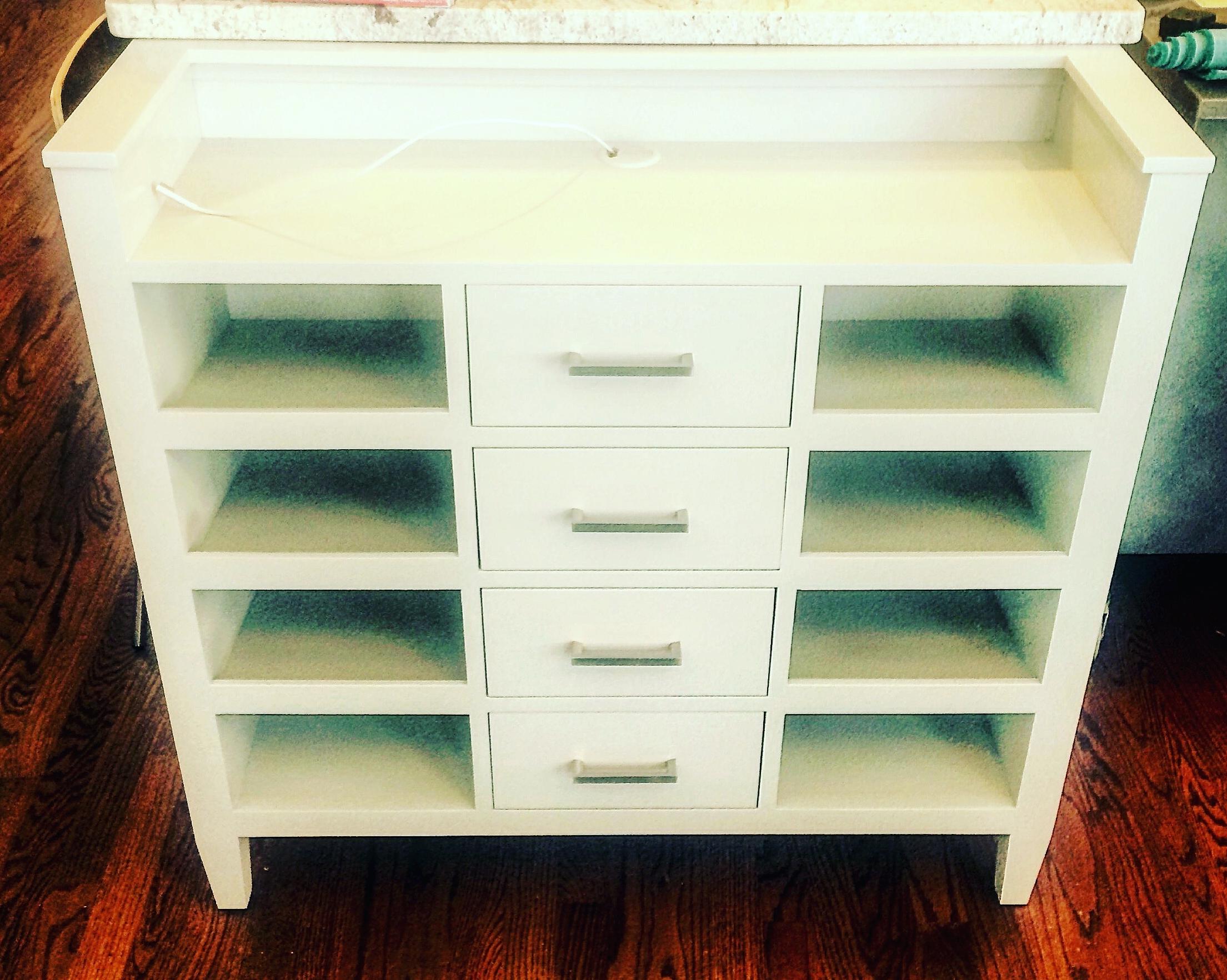 Additional Storage Kitchen Island End Cap