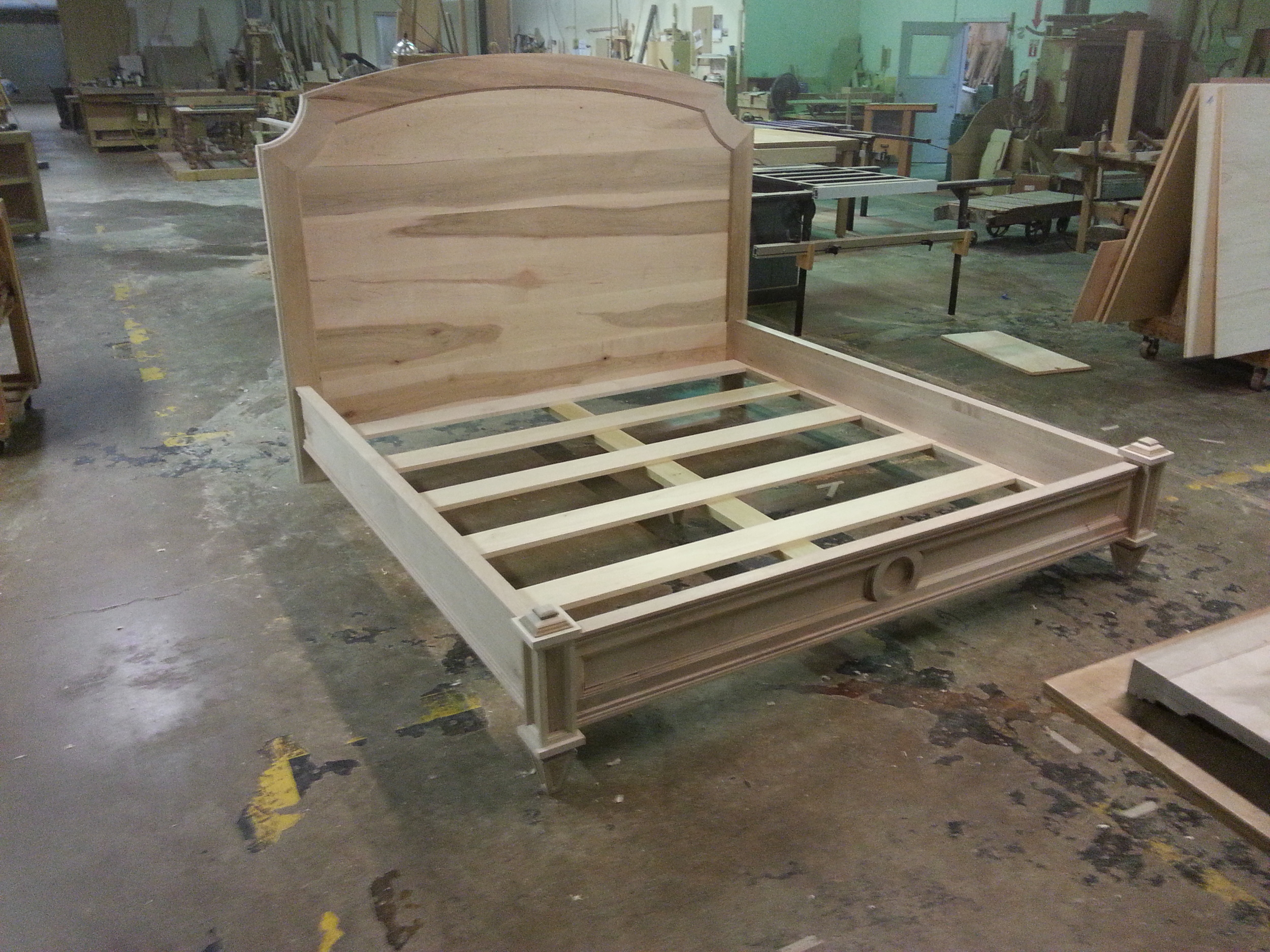 Handcrafted King Bed