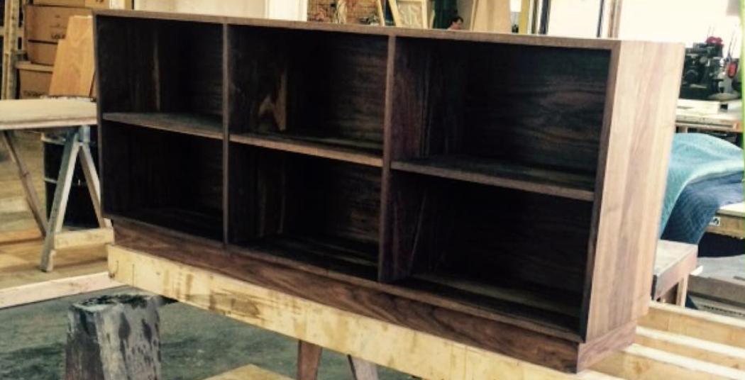 Midcentury Inspired Storage Cabinet