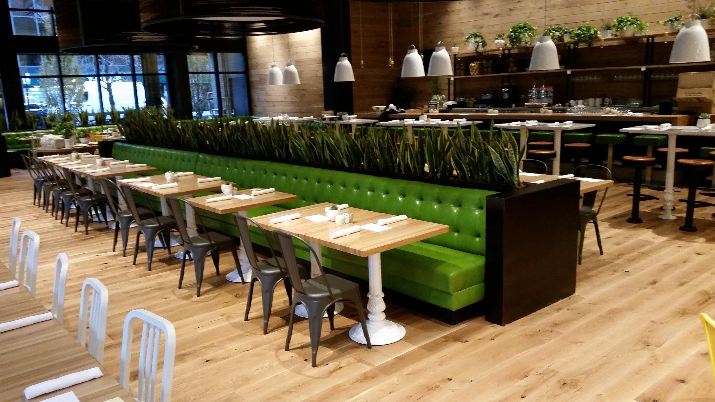 True Food Kitchen Planter Divider