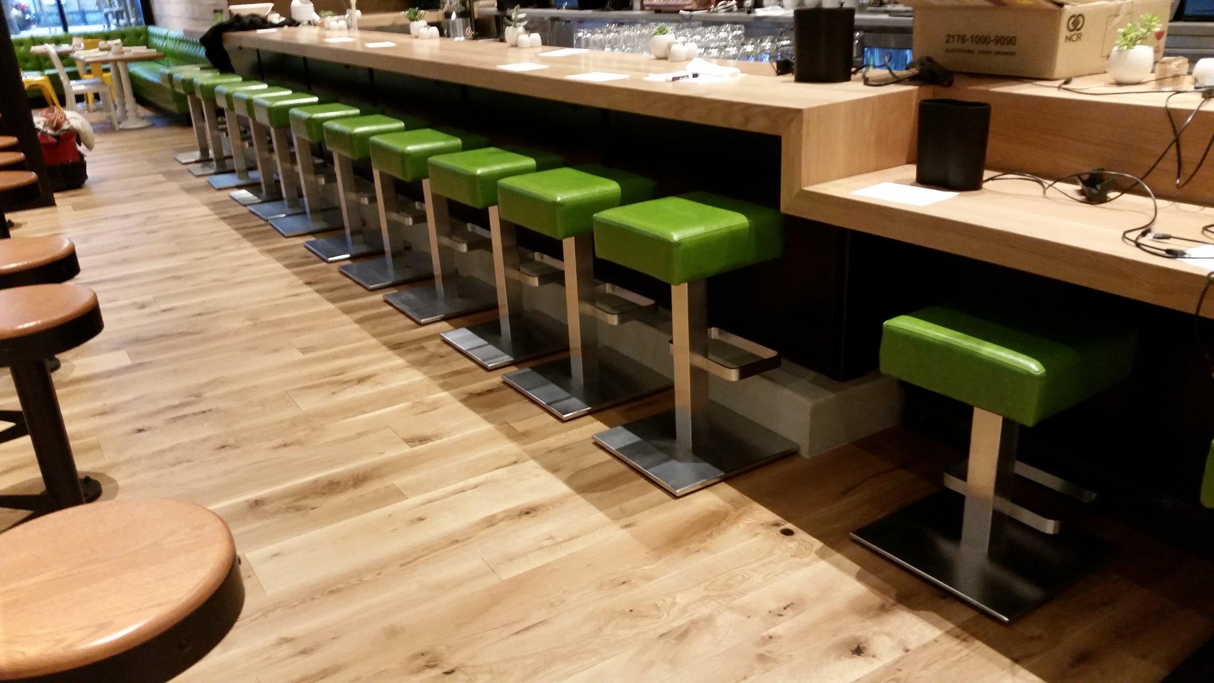 True Food Kitchen Metal Cladding at Bar