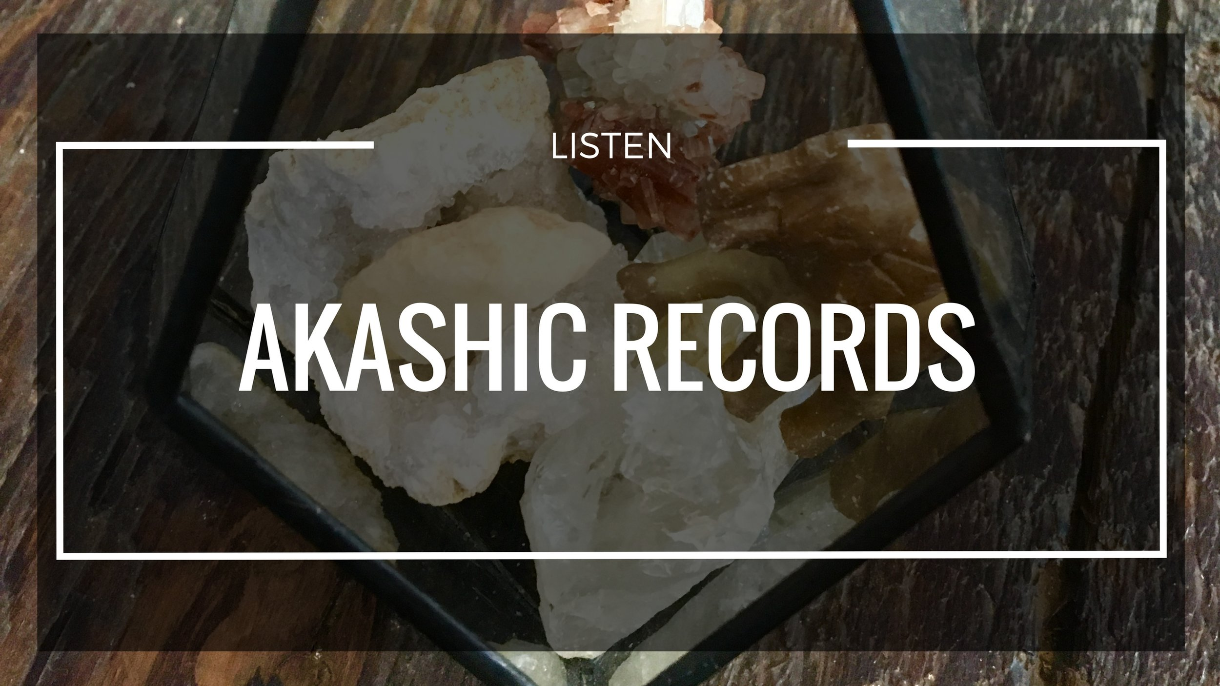 - Through Akashic Records work you can see the soul path in its totality helping you to focus your Gifts & Talents that much more into your every day life.