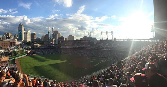 Yesterday was a beautiful day for a ball game. Got to see Verlander pick a W as well.
