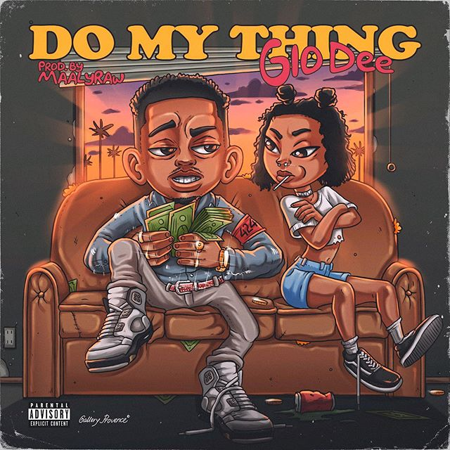 Do My Thing prod by @maalyraw & @rexkudo on Friday.  Cover by @gallery_provence 👾
