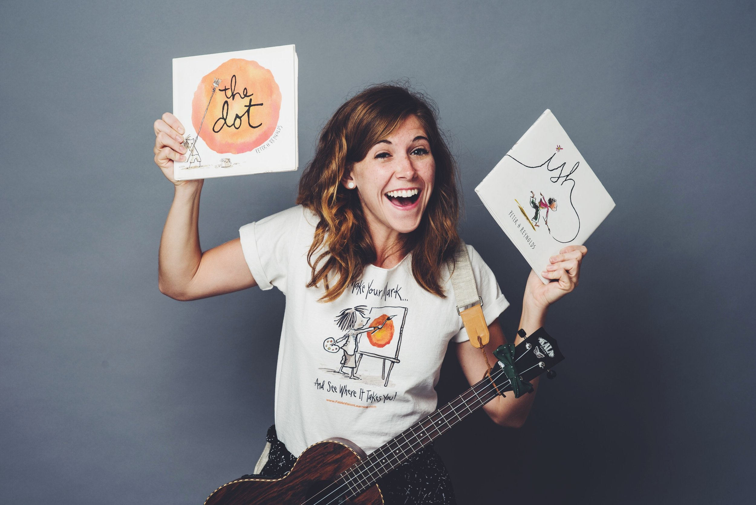 THE DOT Song - song by Emily Arrow aboutthe book by Peter H. Reynolds