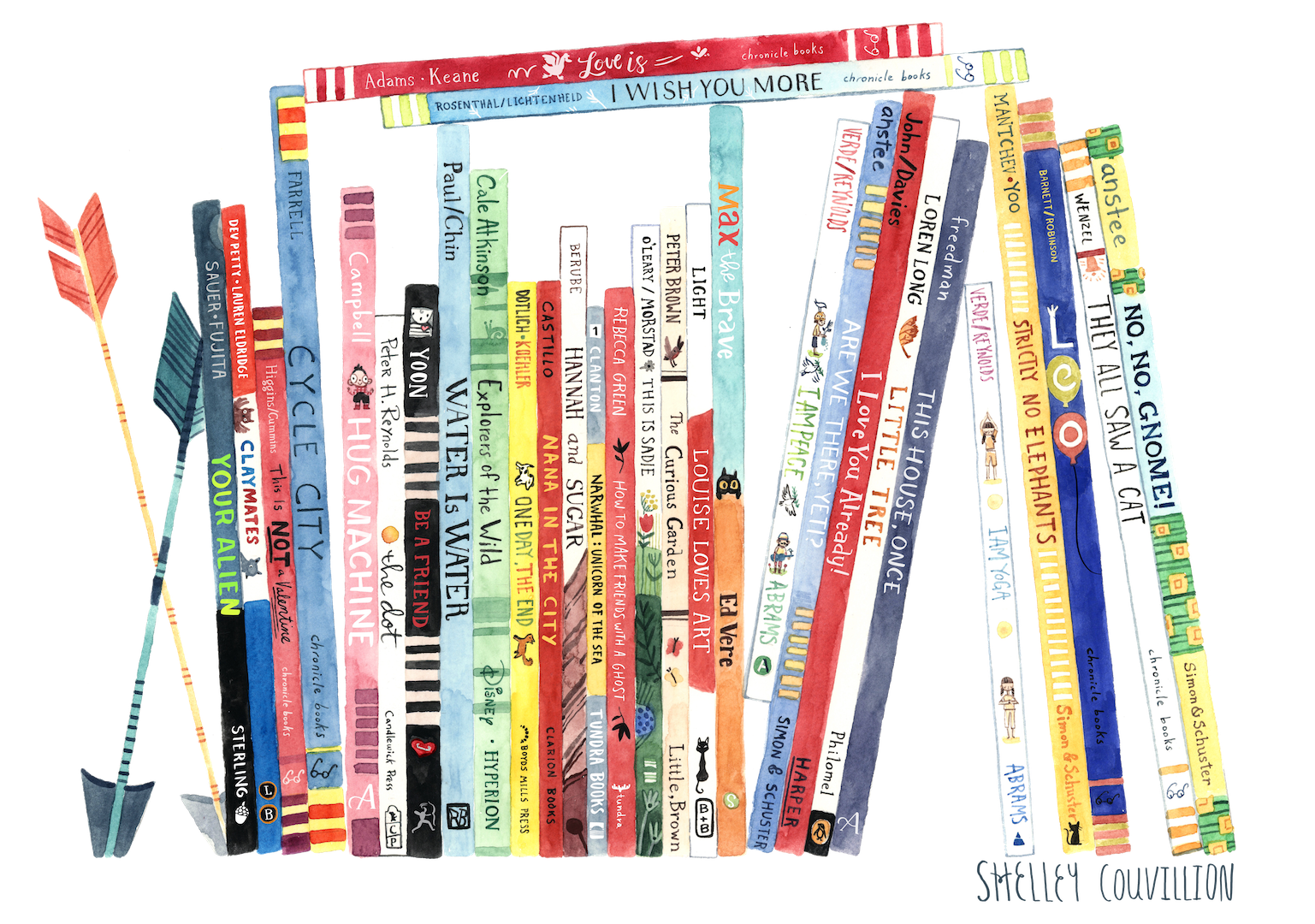 2) Find the books at your library or indie bookstore -