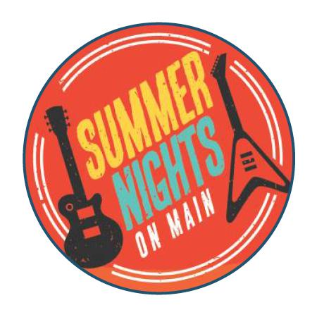 Summer Nights Circle Logo