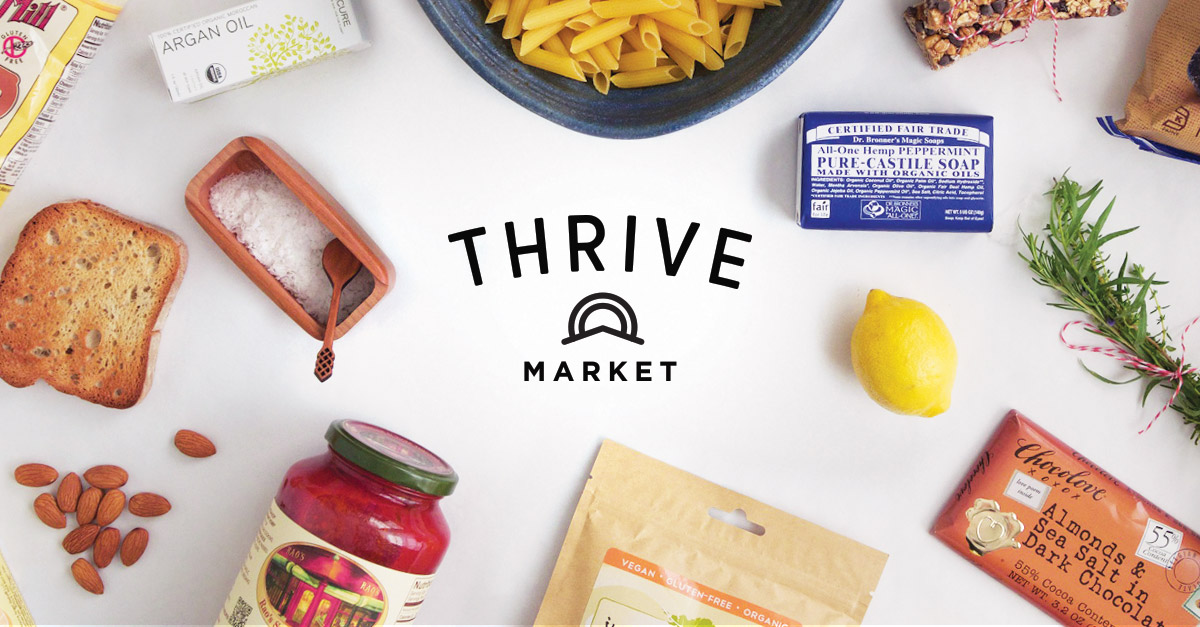 Thrive Market // Whole food at wholesale prices