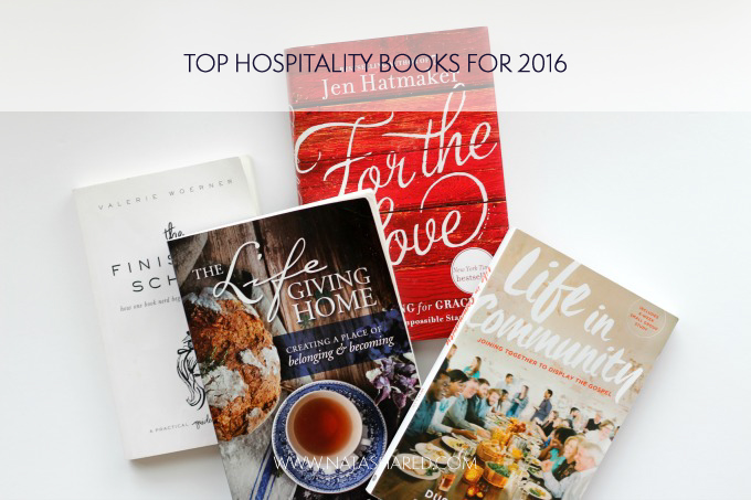 Top Hospitality Books from 2016 // Natasha Red