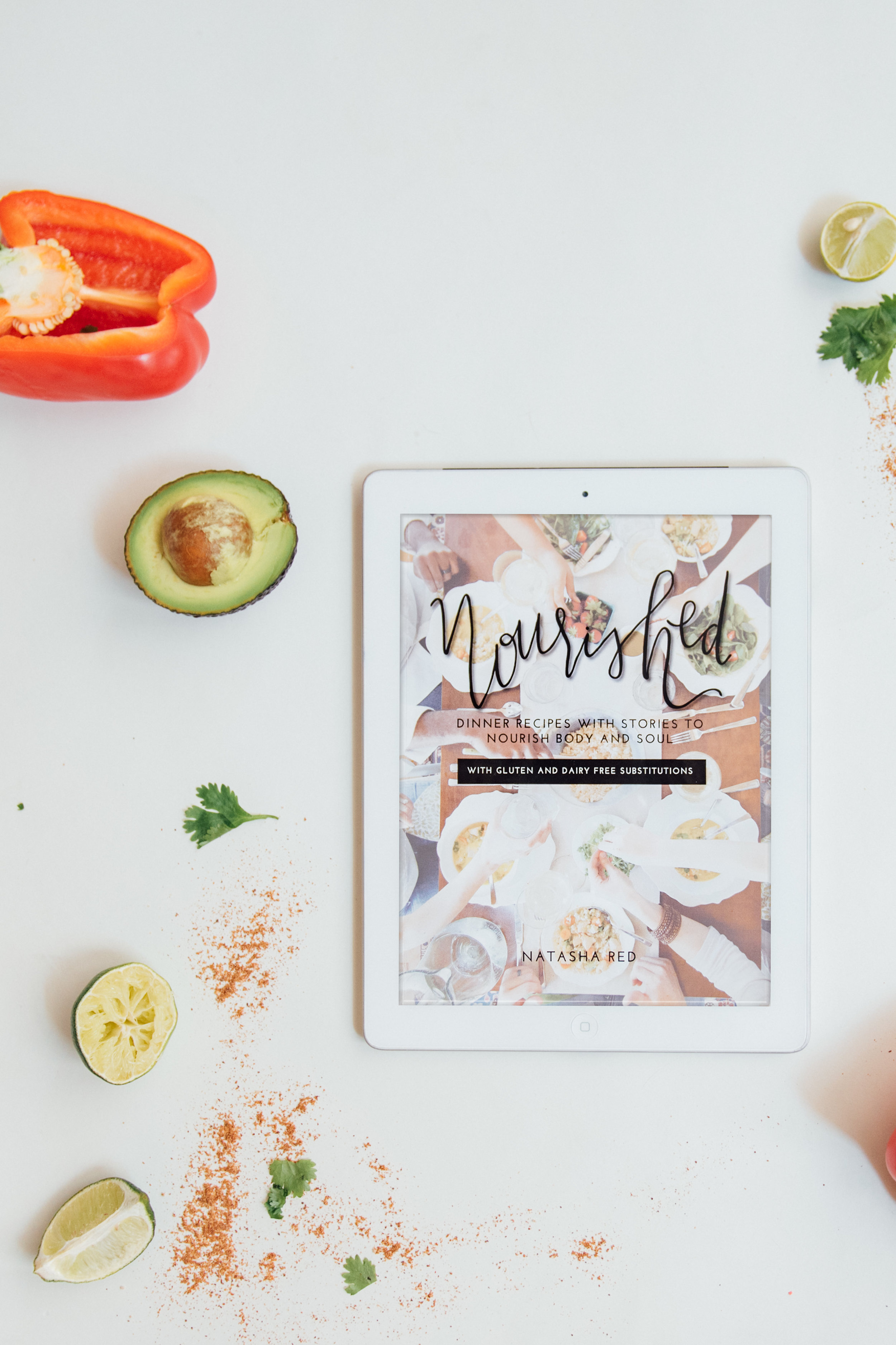 Nourished Cookbook by Natasha Red