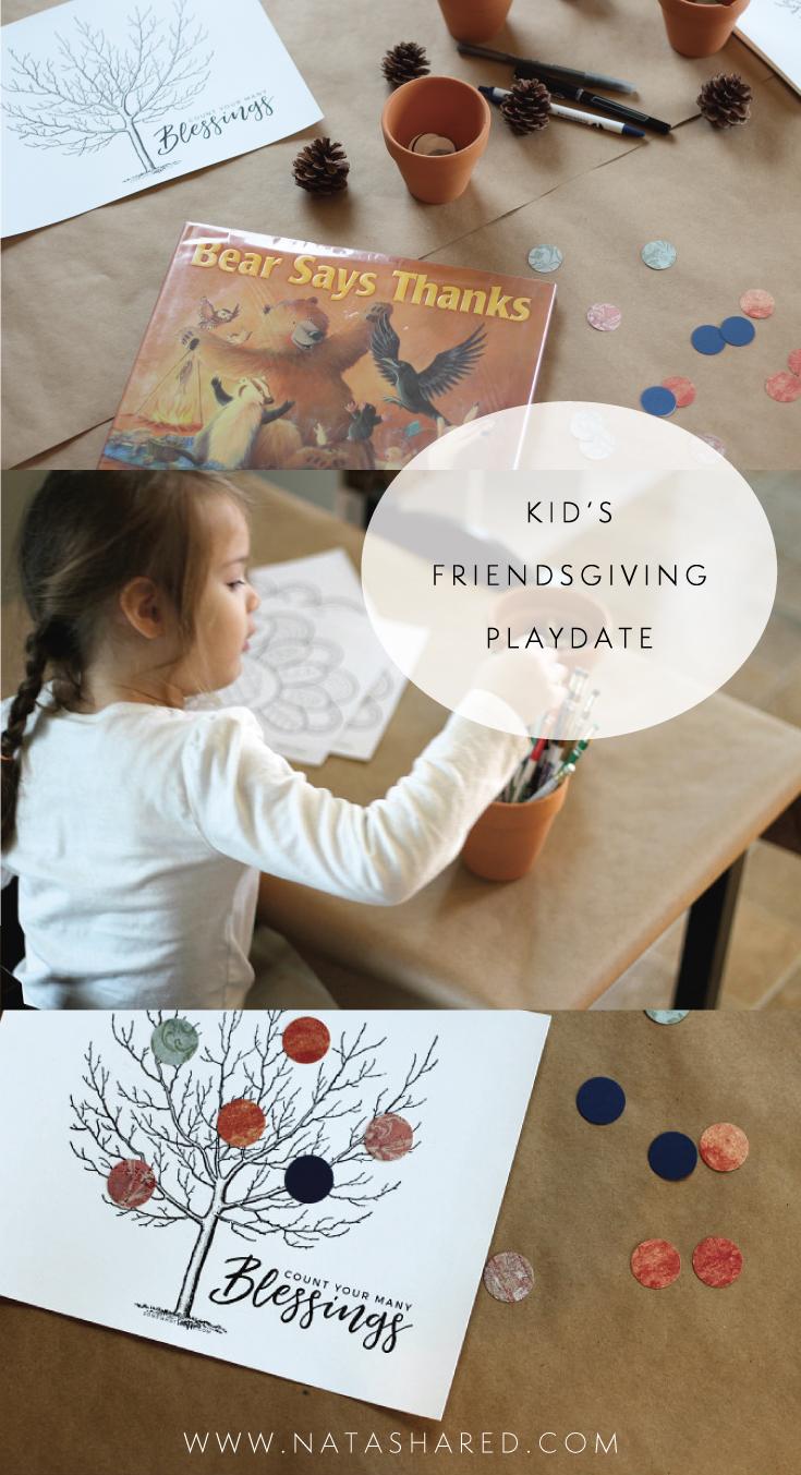 Kid's Friendsgiving Playdate // Natasha Red