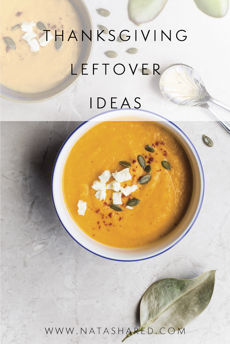 Thanksgiving Leftover Ideas // Natasha Red