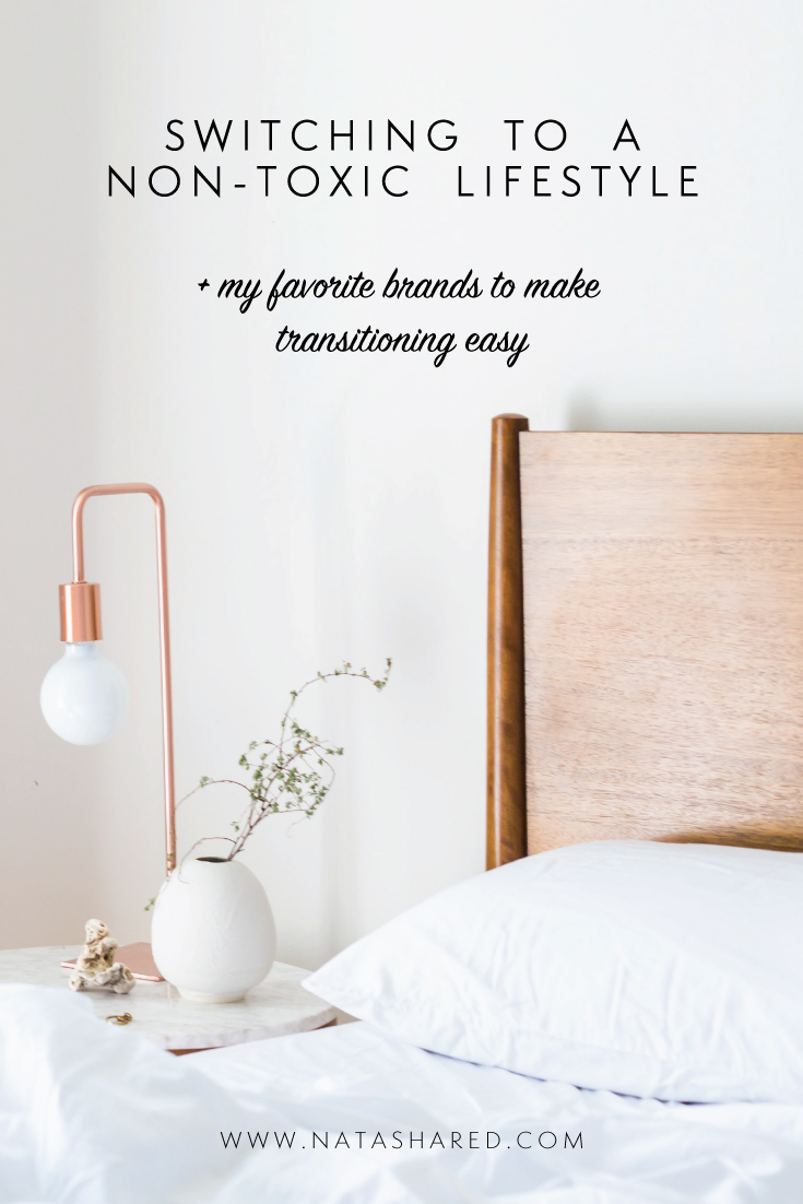 MAKING IT EASY: SWITCHING TO A NON-TOXIC LIFESTYLE | Non toxic beauty | Non toxic home | Real food | Natural wellness remedies