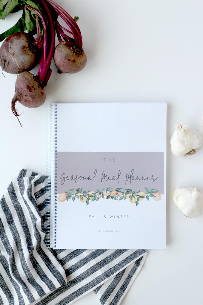 Seasonal Meal Planner // Natasha Red