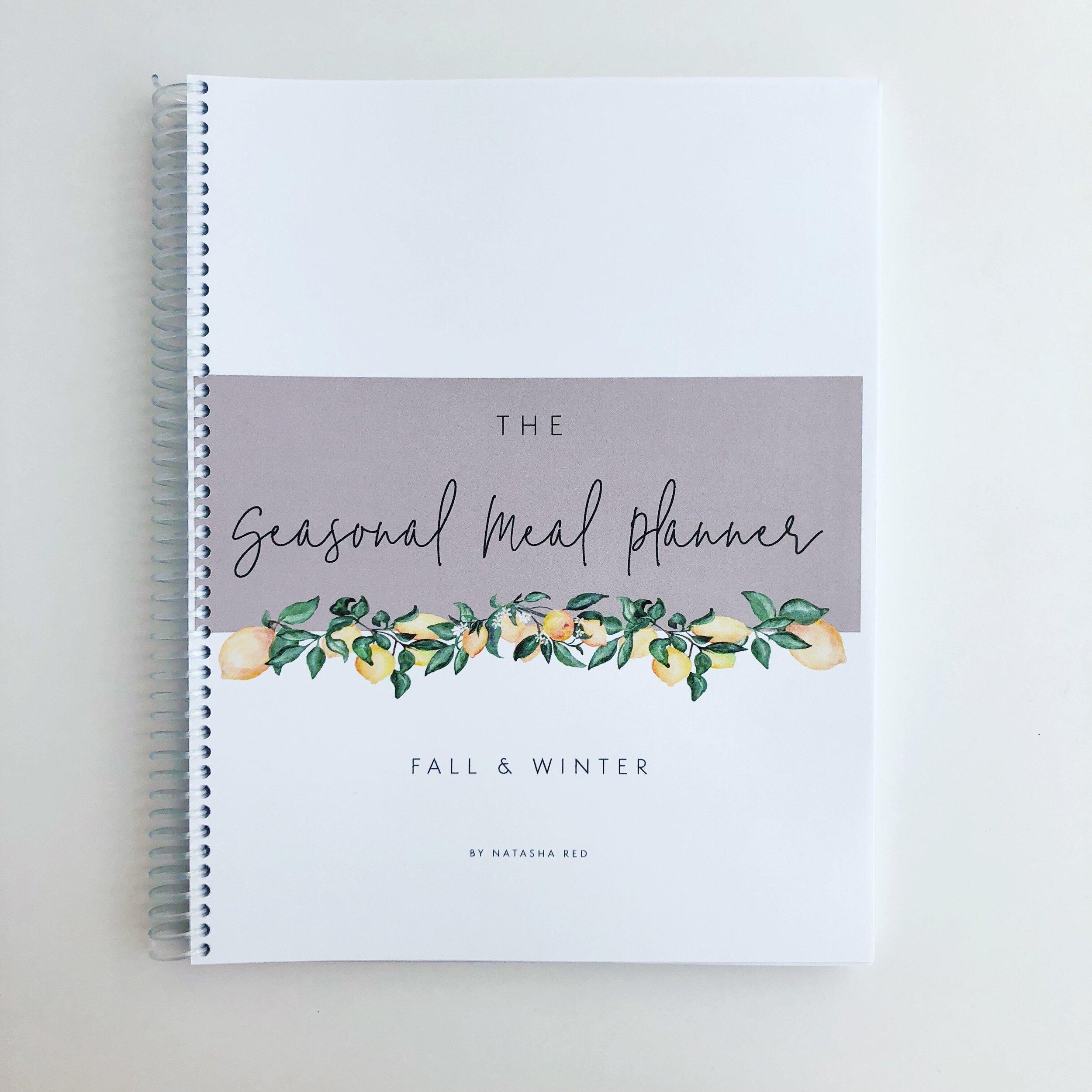 Seasonal Meal Planner | Fall & Winter