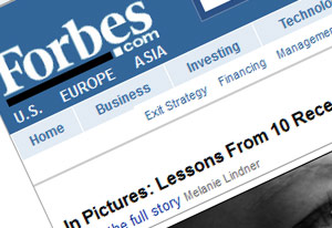Forbes Magazine   Click here to visit.