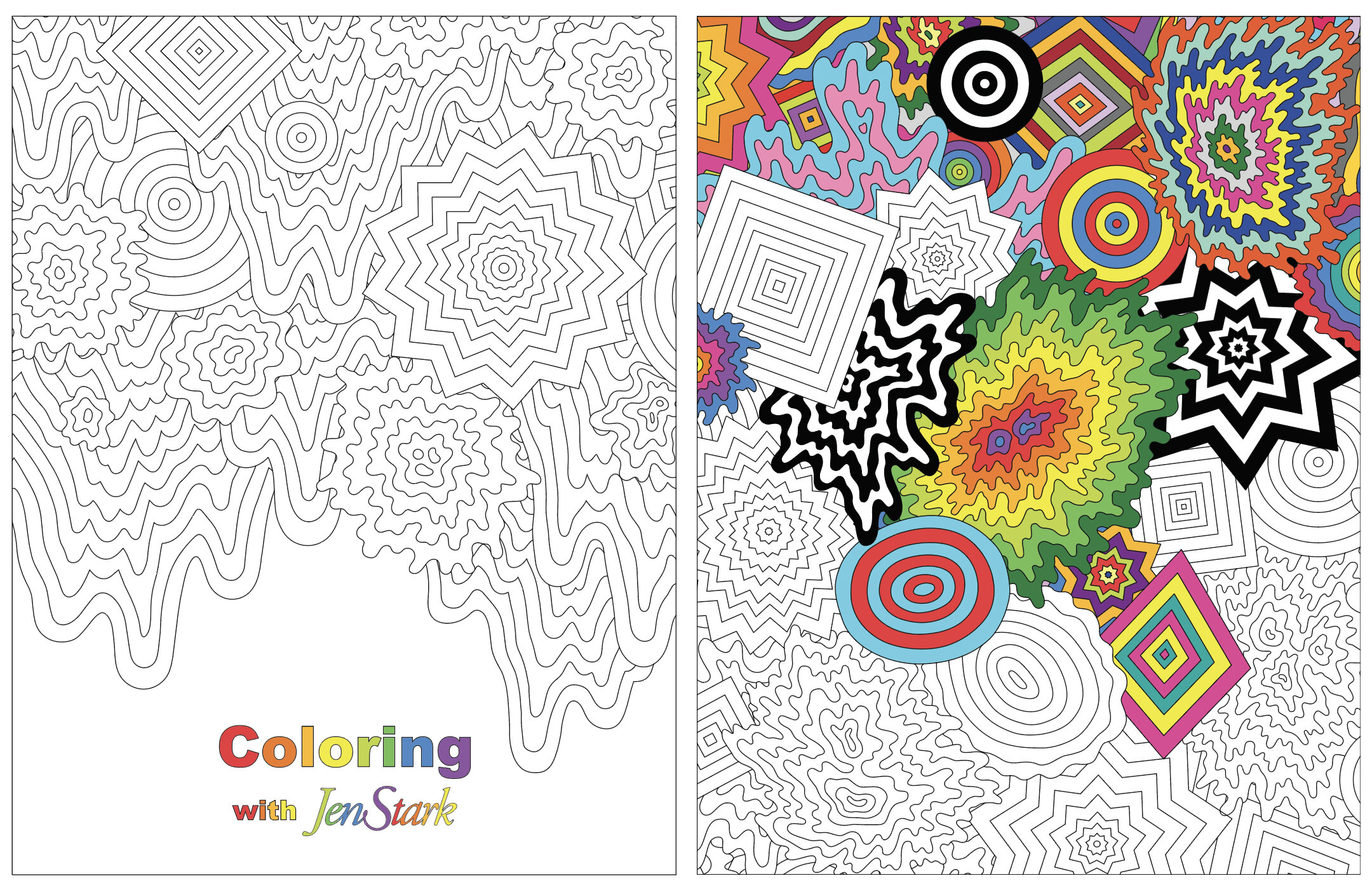 - Print Your Own Coloring Book — Jen Stark