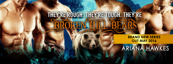 Coming soon: The new series from Ariana Hawkes - Broken Hill Bears! Out in May 2016.