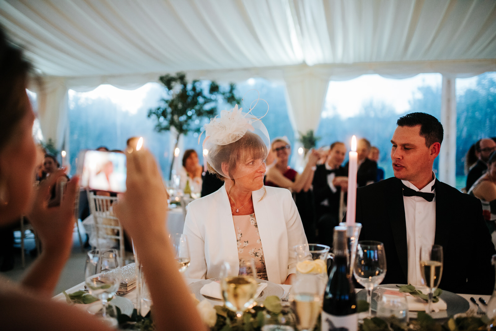 Mother of the Groom gets emotional as guests start singing Happy