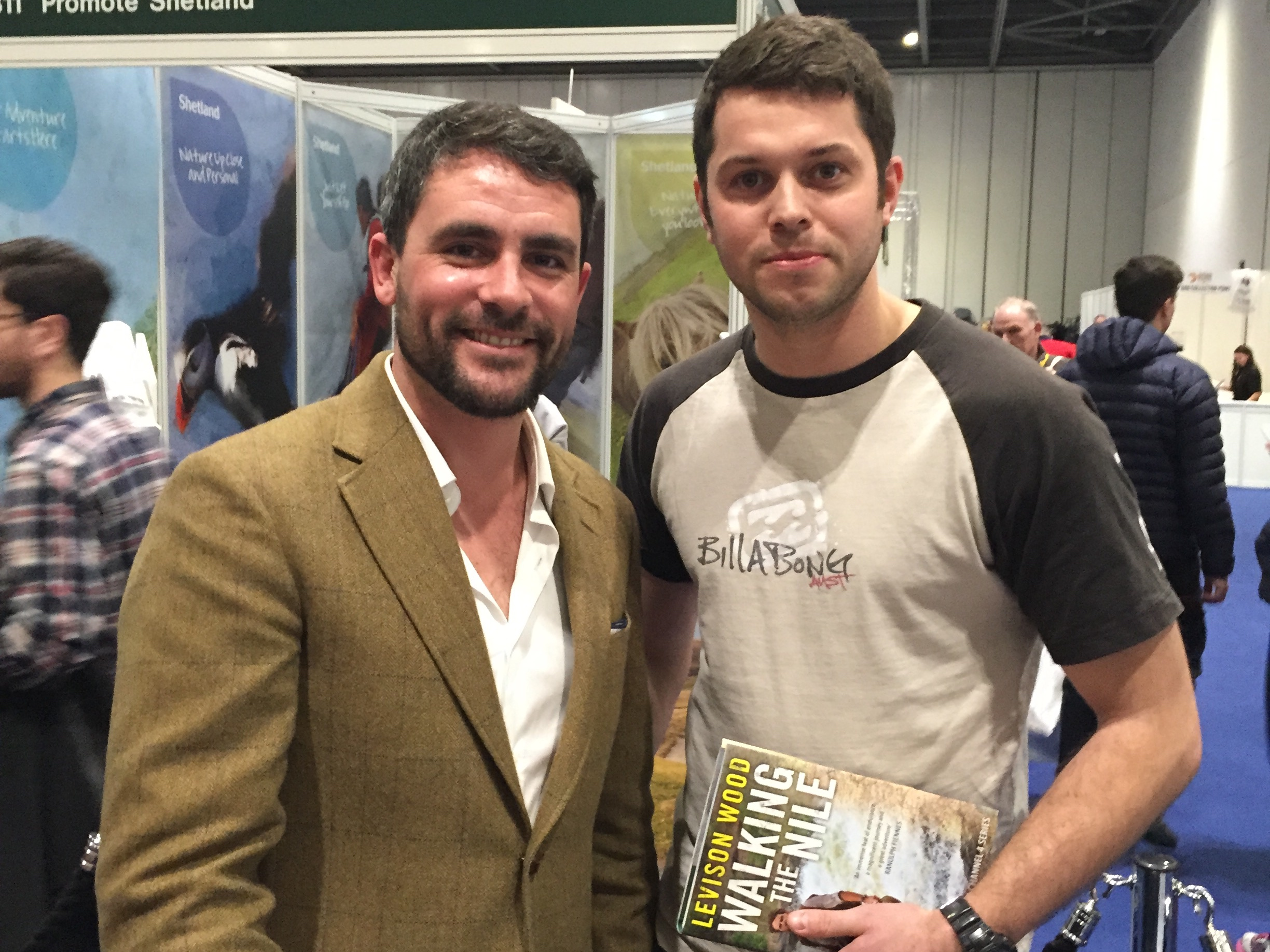 Got to meet Levison Wood after which was cool.