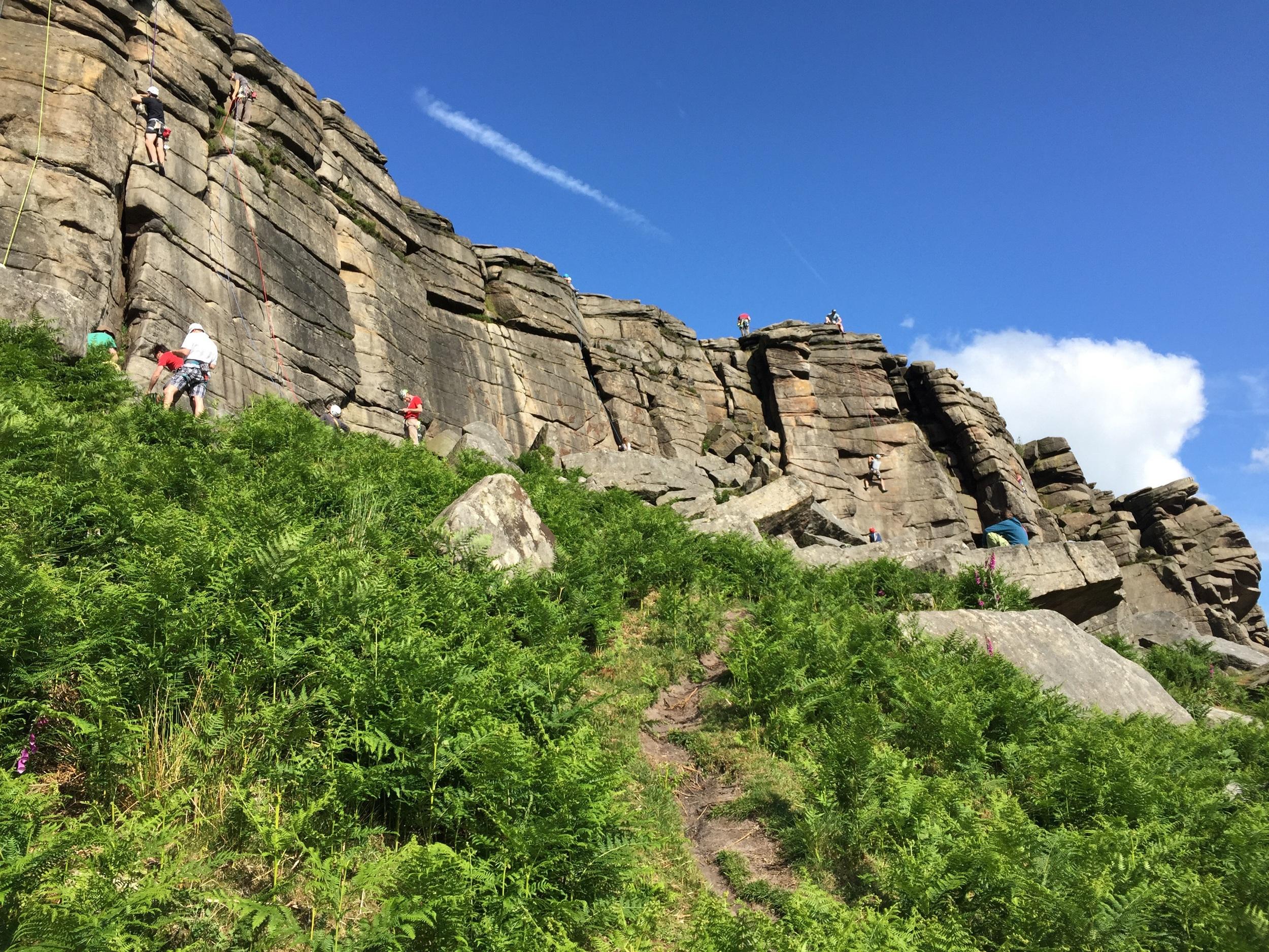 Fantastic crag
