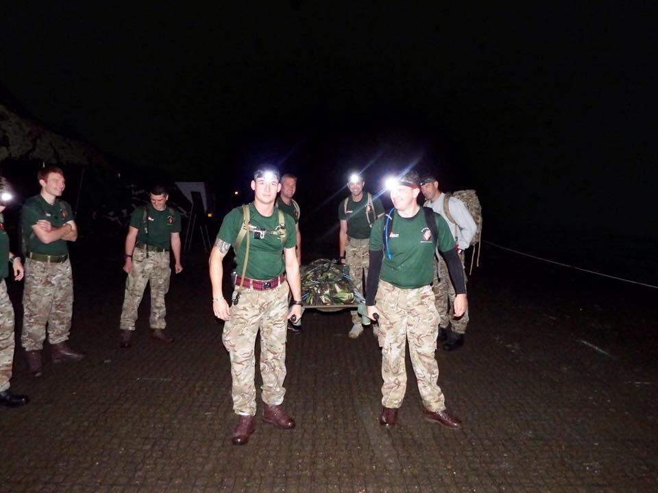 Up at 0400 to start the challenge.