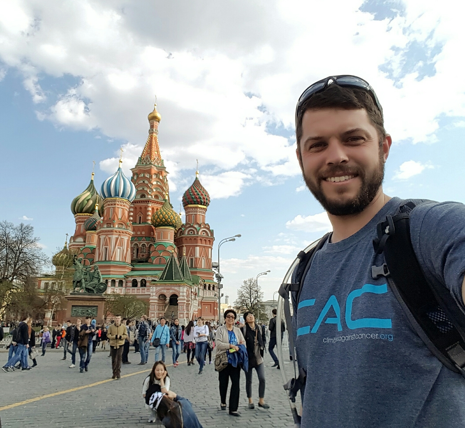 Getting to The Red Square in Moscow