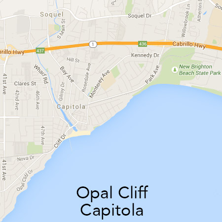 Opal Cliff and Capitola