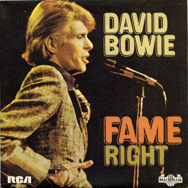 david bowie,  fame/right,  RCA RECORDS