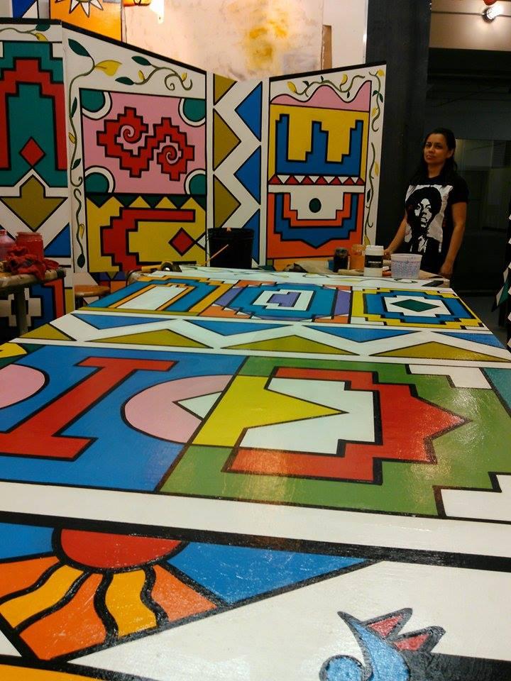 Macia's mural