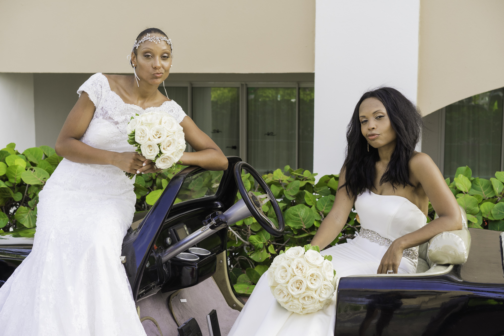 The lovely brides