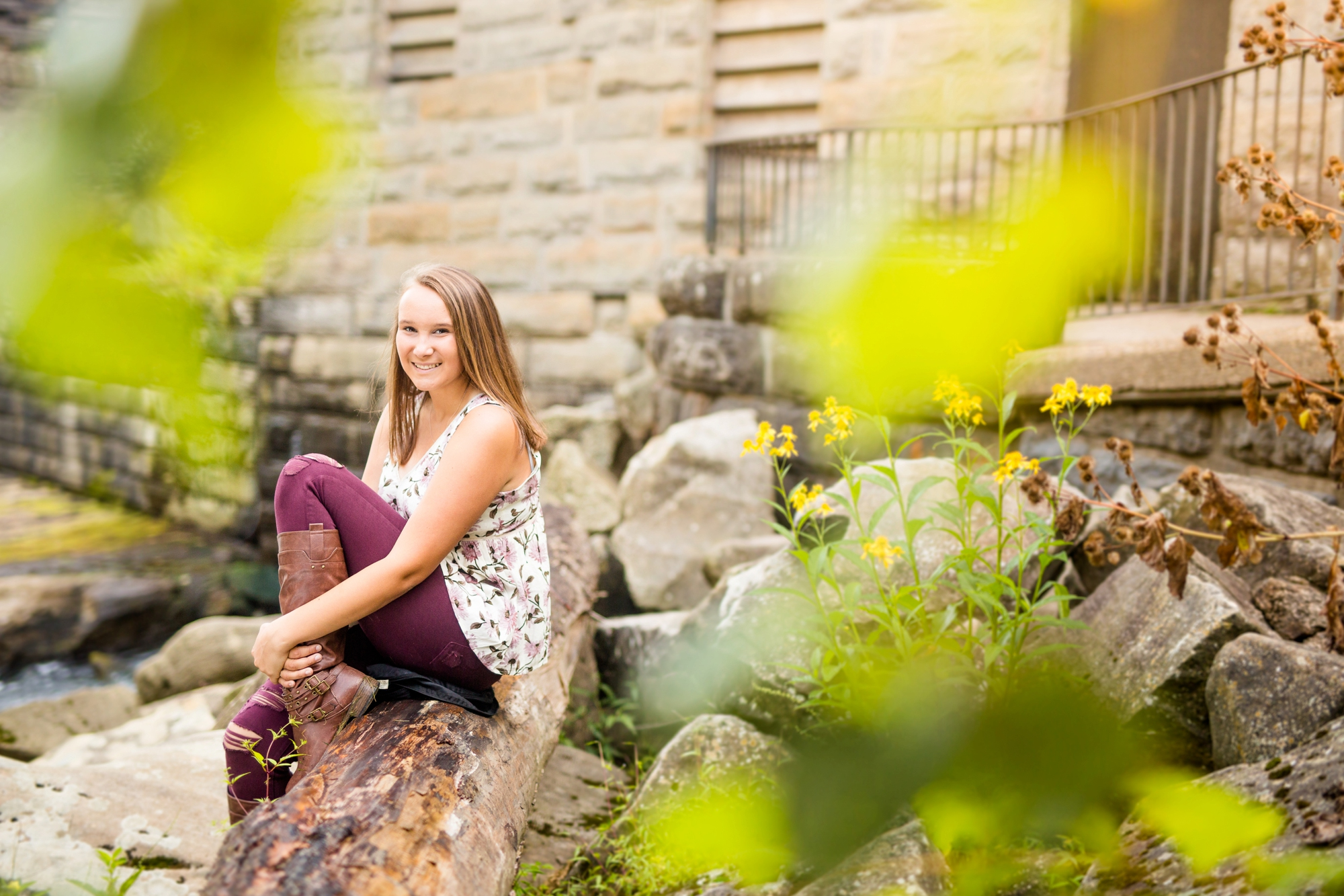 best places to take senior pictures in pittsburgh, places to take senior pictures in pittsburgh, mcconnells mill senior photos, pittsburgh senior photographer