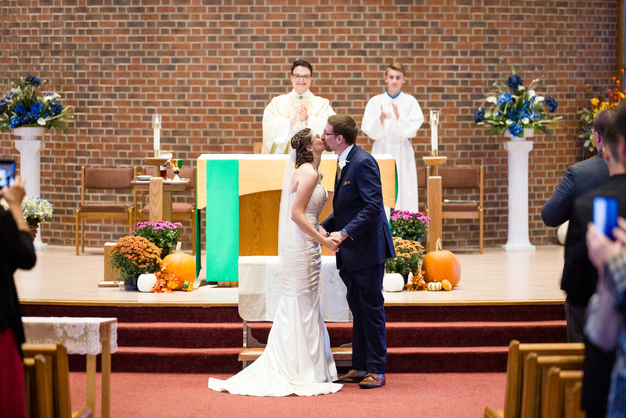 cranberry township wedding photographer, st ferdinand's catholic church photos, camelot banquet hall wedding photos, cranberry township wedding venues