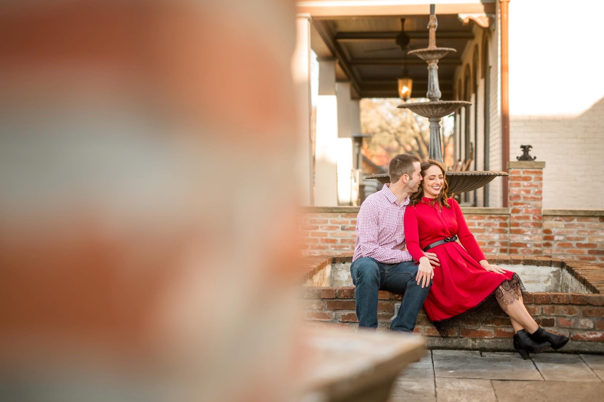 historic harmony engagement photos, harmony senior photos, harmony family photos, wunderbar coffee shop, wunderbar cafe, cranberry township wedding photographer