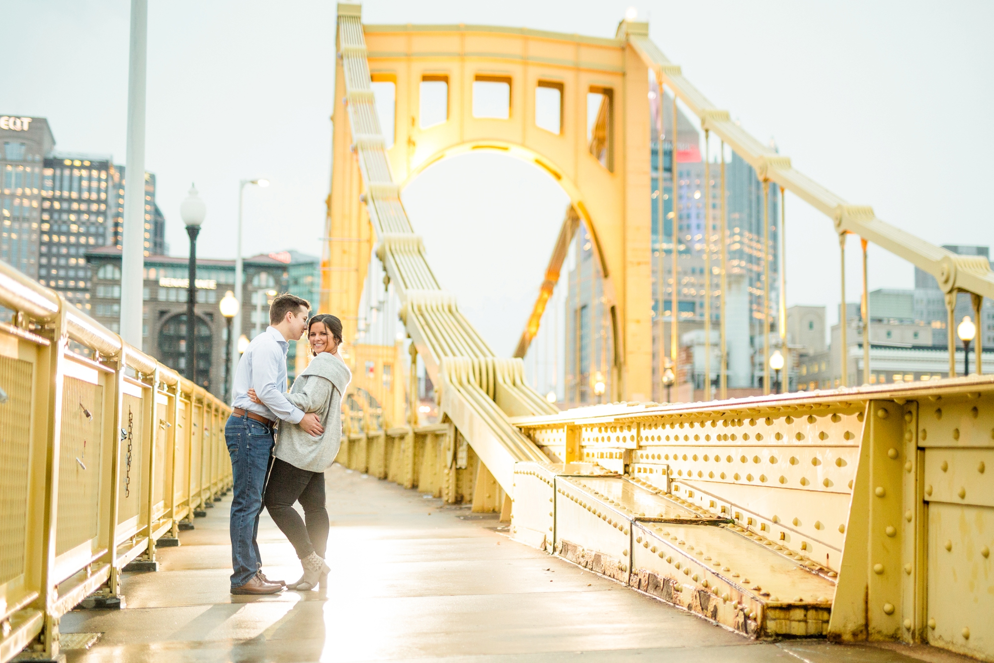 pittsburgh wedding photographer, pittsburgh engagement photos, best spot in pittsburgh for photo shoot, highland park engagement pictures, allegheny commons park engagement photos, mexican war street