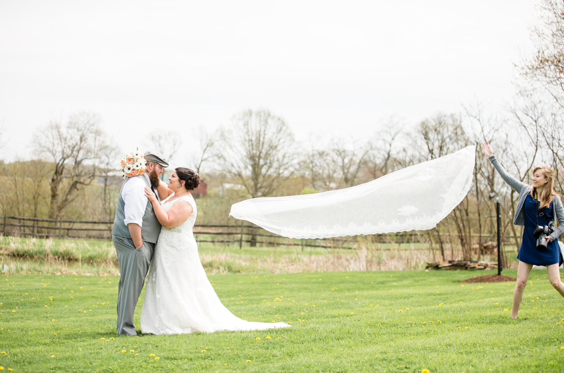 The veil was not harmed in the making of this shot!