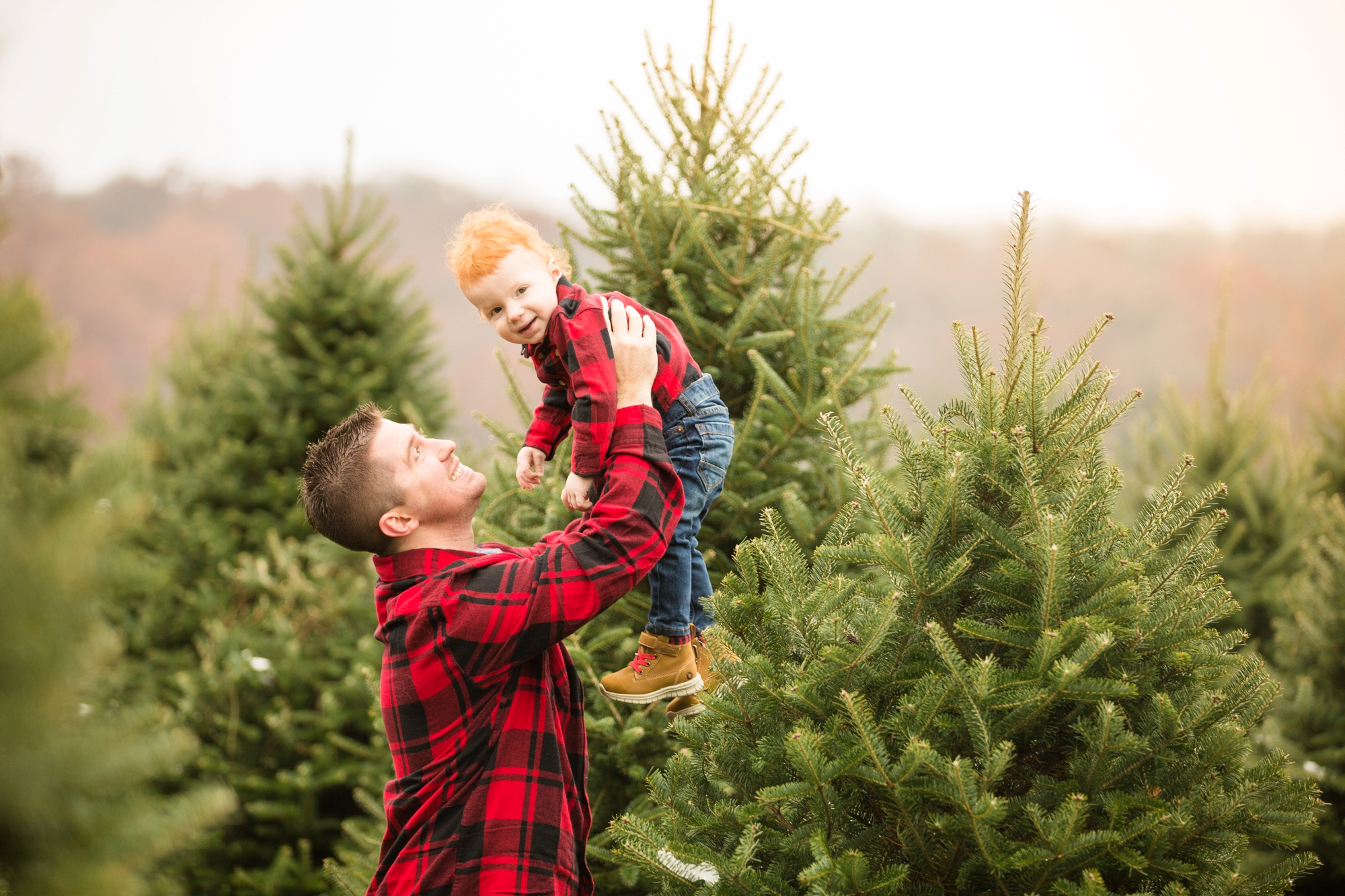 best places to take pictures in pittsburgh, cool places to take pictures in pittsburgh, lake forest gardens, pittsburgh family photographer, christmas tree farm pittsburgh